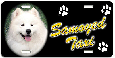 Samoyed 3 Taxi Line License Plate (( LOW CLEARANCE PRICE ))