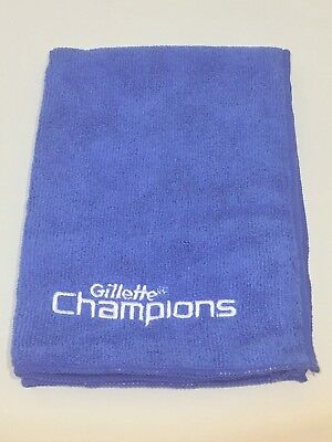 Wholesale Job Lot Of 55 Gillette Champions Blue Promotional Golf/face Towel
