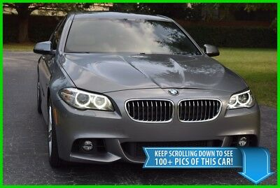 2014 BMW 5-Series 528i M-SPORT - ONE OWNER - BEST DEAL ON EBAY! 528 i SEDAN M SPORT PACKAGE - GRAY WITH TAN INTERIOR - 528i - BEAUTIFUL CAR