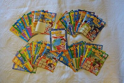 Where's Wally's World 52 Magazines Kids Comics Educational Collection Complete