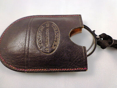 Vintage Thaxter Pince Nez Spectacles with Leather Case