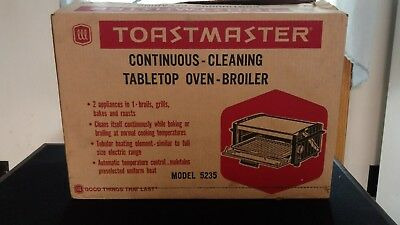 Vintage Toastmaster #5235 Toaster Oven Broiler McGraw-Edison - New NOS