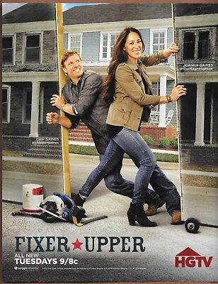 Chip & Joanna Gaines Magnolia HGTV Six Single Page Magazine Print Ads 2016 Lot