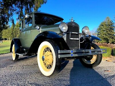 1931 Ford Model A  1931 Ford Model A w/ Rumble Seat