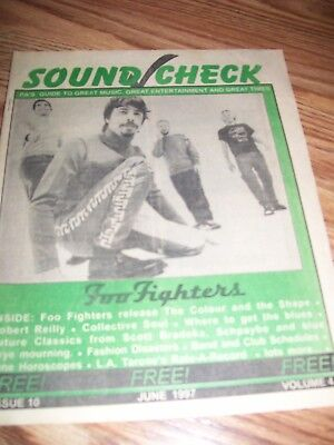 4 Sound Check Lot-Foo Fighters,harpo,fuel,badlees,kiss,collective Soulclove,beef