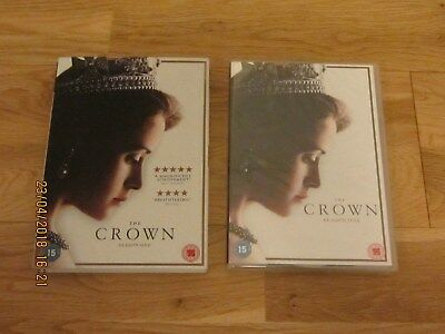 The Crown Season One Dvd Brand New And Sealed Uk Pal Region 2 & Slip Case Cover