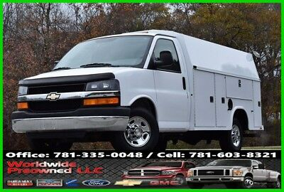 2007 Chevrolet Express Chevrolet Chevy GMC Enclosed Utility Van 6.0L Vortec Gas Truck 2007 Chevrolet Express Cutaway Enclosed Utility Van 6.0L Gas Chevy GMC Truck DRW