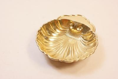 Birks Gold Sterling Silver Scallop Shell Ring Dish No Reserve