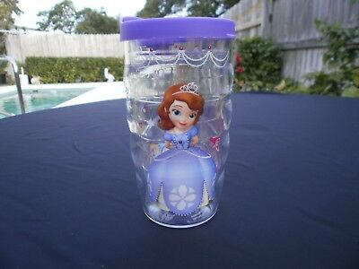 Tervis Tumbler Disney Princess SOFIA 10 Ounce Cup Purple Lid