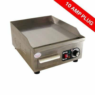 Electric Griddle with Chrome Plate Commercial Hot Plate Grill