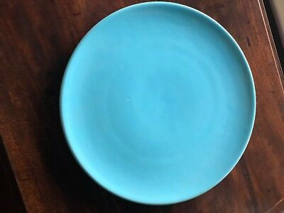 """Catalina Island Pottery Large 12 1/2"""" Platter Charger"""