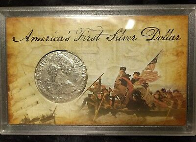 1783 Mexico 8 Reales - Sea Salvage in holder - America's 1st Silver Dollar