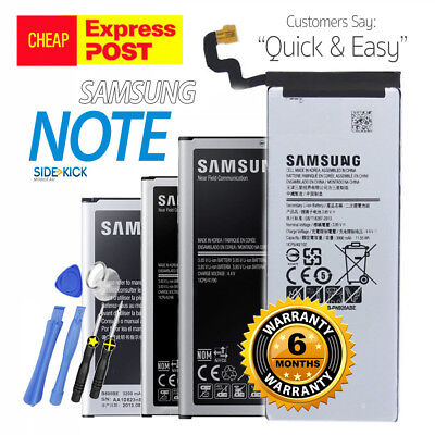 New High Capacity OEM Battery Replacement for Samsung Galaxy Note 2 3 4 5 Edge