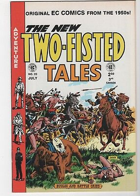 Two-Fisted Tales #20 In Near Mint 9.2 Condition (July, 1997, Gemstone)