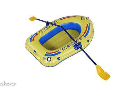 Oztrail Ozspray 1 Person Kids Inflatable Boat Raft (Includes Oars)