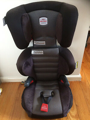 Safe N Sound Hi Liner SG Phantom (grey) Booster Seat in Excellent Condition