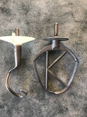 Kenwood Chef Mixer Attachments K beater and dough hook A700 A900 series Vintage