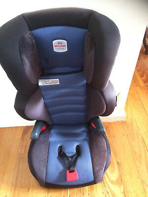 Safe N Sound Hi Liner SG Sapphire (blue) Booster Seat in Excellent Condition