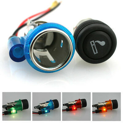 12V 120W Power Cigarette Lighter Socket Plug for Car Motorcycle Auto Motor Flowe