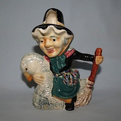 Shorter And Son Old Mother Goose Toby Jug Nursery Rhymes
