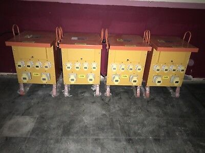 10 KVA single phase to 110V x 4 transformers in new condition