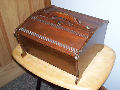 Vintage Butler #150 Portable Wooden Sewing Box