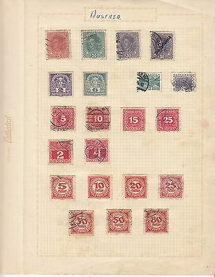CARIBBEAN ISLAND EARLY COLLECTION on old album Page MINT/MNG/USED..