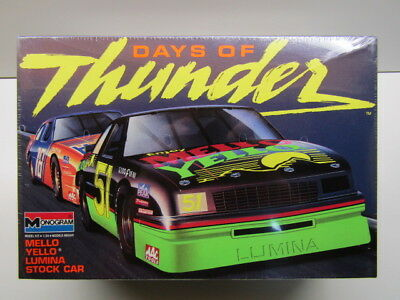 Monogram 1:25 Scale Days of Thunder #51 Mello Yello Lumina Model Kit New -Sealed