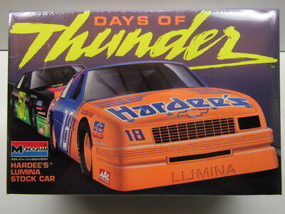 Monogram 1:25 Scale Days of Thunder #18 Hardee's Lumina Model Kit New - Sealed