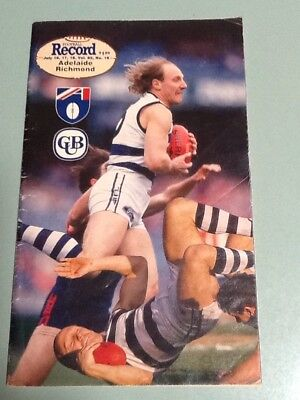 Football Record 1993 Round 16 Adelaide Vs Richmond