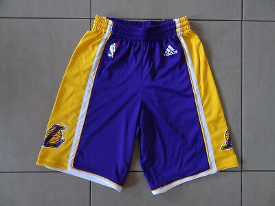 Youths Adidas Los Angeles Lakers NBA Shorts - Size 12Y, Excellent Condition.