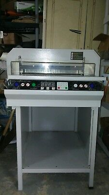 Commercial paper cutter model 450..kept indoors and covered..a steal of a deal!!