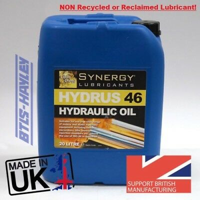 HYDRAULIC OIL ISO 46, Synergy® Hydrus 46 Hydraulic Oil x 20L, 20 LITRE