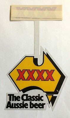 1980's XXXX Beer plastic point of sale display in excellent unused condition.
