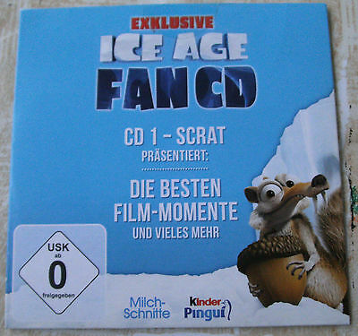 Ice Age, Fan CD 1 - Scrat