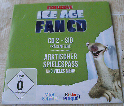 Ice Age, Fan CD 2 - Sid