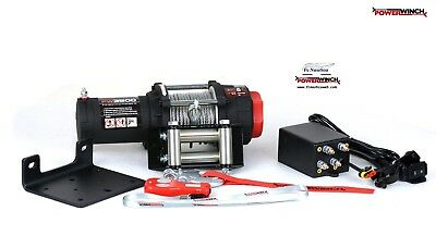 ARGANO VERRICELLO ELETTRICO POWERWINCH 12v TELECOMANDO WIRELESS PW 3500 lb