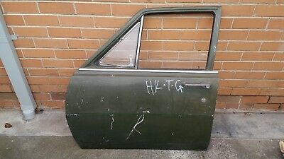 HK HT HG  Front L/H Door kingswood premier belmont with glass / hinges