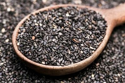 Pure Black Sesame seed (NOT ROASTED) | Black Til | तिल | എള്ള് free shipping