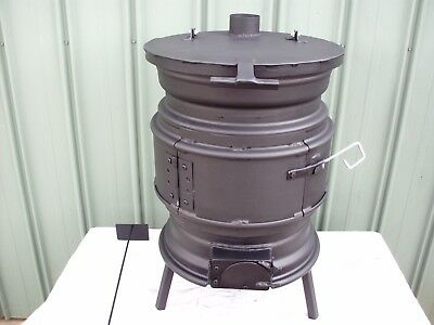 Shafts Pot Belly New Style Wood Heater ( Postage Available )