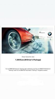 Gutschein BMW M Drivers Package!!!!!