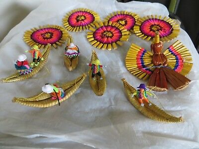 south american art - for mobile or other hanging decoration