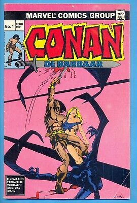 Conan N° 1 :  : 1° Dr. 1981 : Marvelcomics ( Oberon Nl )