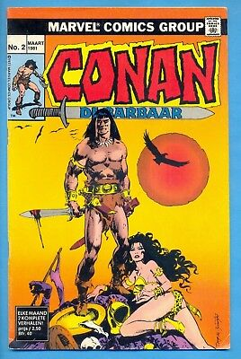 Conan N° 2 :  : 1° Dr. 1981 : Marvelcomics ( Oberon Nl )