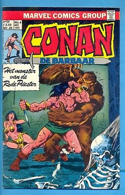 Conan N° 4 :  : 1° Dr. 1981 : Marvelcomics ( Oberon Nl )