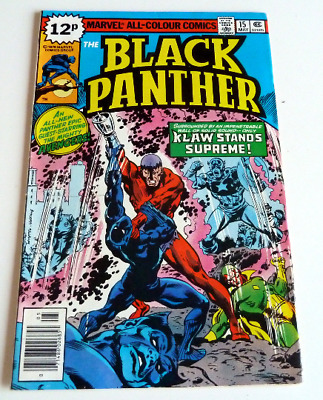 Marvel Comic BLACK PANTHER #14 1979 Near Mint Condition 9.4