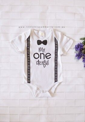 Boys first birthday outfit cake smash outfit for boys mr onederful 1st birthday