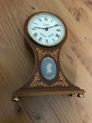 comitti clock with crack on base but still in good working order