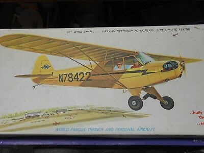 "sterling models 30"" J-3 piper cub NOS"