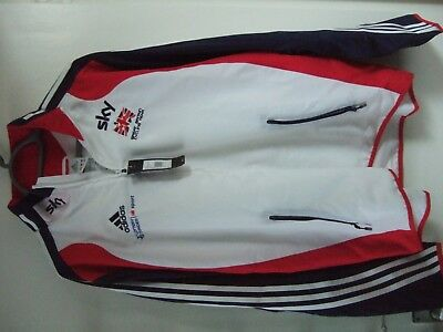 great britain cycling presentation jacket new with tags size 42/44 adult large